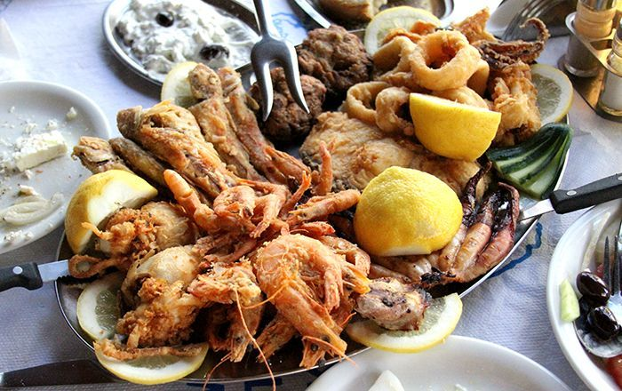 Santorini Food And Drink Prices