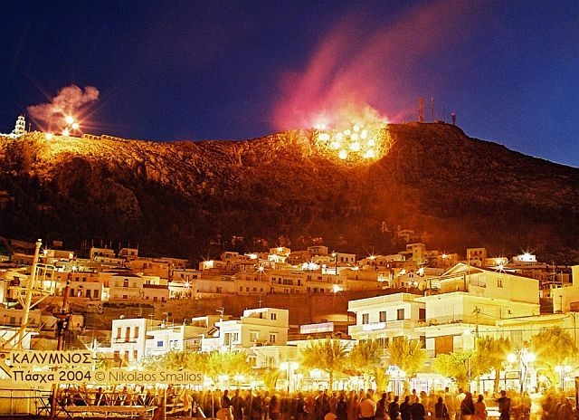 Easter in Kalymnos